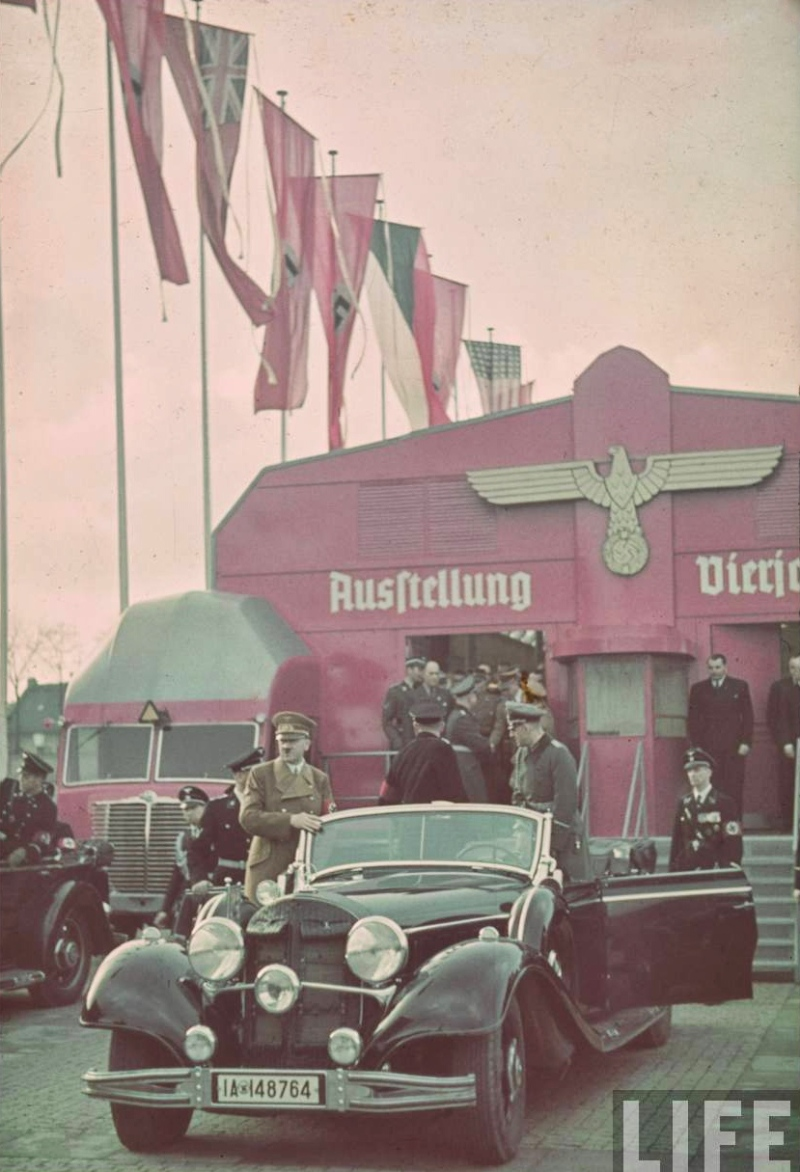 Adolf Hitler tours the International Auto Exhibit in Berlin-01