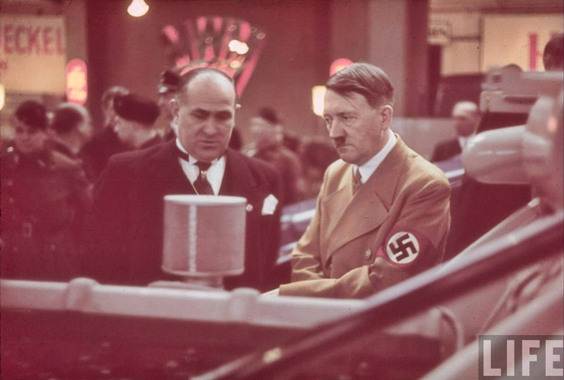 Adolf Hitler tours the International Auto Exhibit in Berlin-07