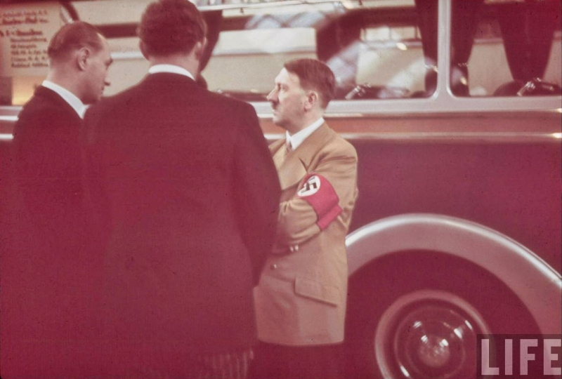 Adolf Hitler tours the International Auto Exhibit in Berlin-08