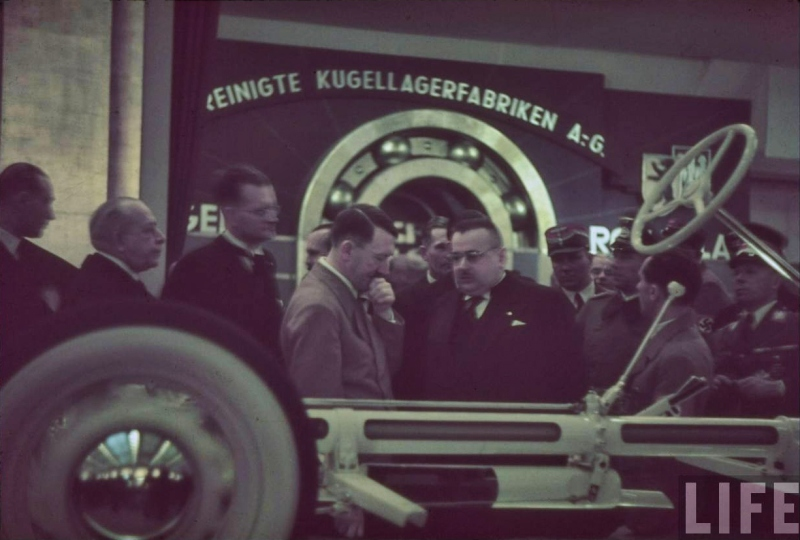 Adolf Hitler tours the International Auto Exhibit in Berlin-10