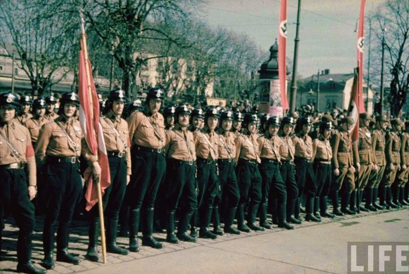 The Anschluss of Austria 1938,Graz_06