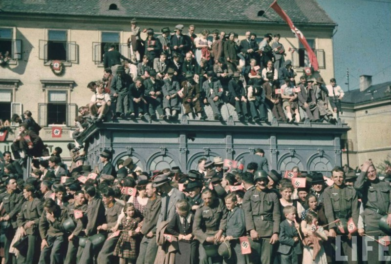 The Anschluss of Austria 1938,Graz_09
