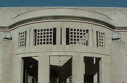 Entrance to USHMM in Washington, DC