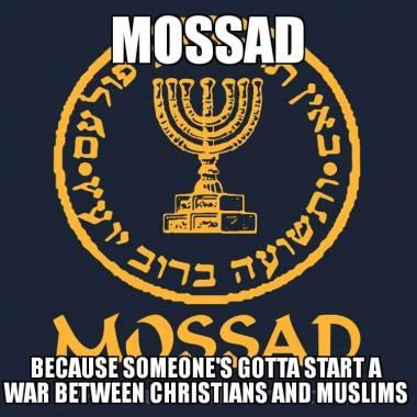 mossad christian muslim clash